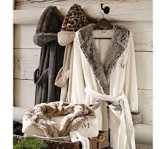 Faux Fur Robe Cheetah