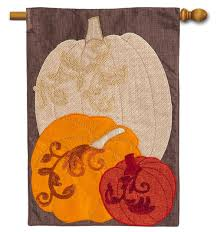 American Flag Pumpkin Pattern by Fall Flags U0026 Autumn Decorative Outdoor House Flags