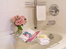 bathtub caddy with reading rack all about house design the
