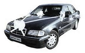 kit déco de voiture mariage décoration voiture mariage