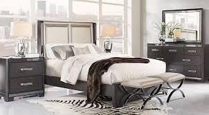 Rooms To Go Queen Bedroom Sets by Eric Church Highway To Home Silverton Sound Graphite 5 Pc Queen
