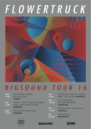 FLOWERTRUCK Announce BIGSOUND Performance And East Coast Tour