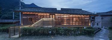 100 Architectural Design For House Suspended Wooden Book House Is Clad In Translucent Panels By Shulin