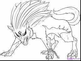 Remarkable Twilight Wolf Coloring Page With Zelda Pages