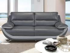 canape cuir gris canape cuir gris pas cher canape d angle cuir 3 places