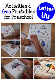 Letter U Activities For Preschool