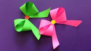 How To Make A Paper Bow Ribbon