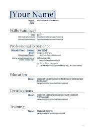 Microsoft Windows Resume Template Templates Administrator 7