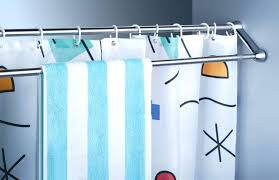 Spring Tension Curtain Rods Extra Long by Shower Curtains Tension Rod Shower Curtain Bathroom Decorating