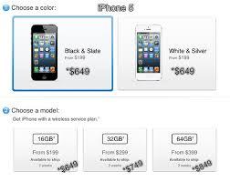 iPhone 5 price in Malaysia