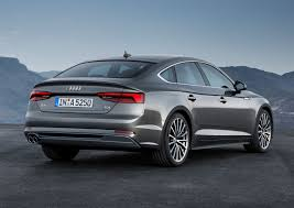 2017 Audi A5 Sportback and S5 Sportback shown at Paris show