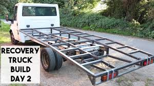 100 Truck Bed Ramp FORD TRANSIT MK6 RECOVERY TRUCK BUILD DAY2 RAMP TRUCK