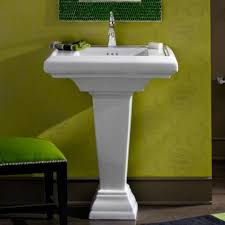 Toto Promenade Pedestal Bathroom Sink by American Standard Town Square 24