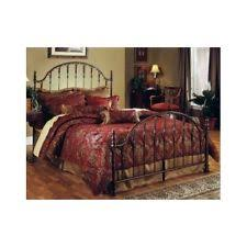 fashion bed madera queen metal spindle headboard in rustic green