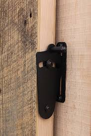 Barn Door Privacy Lock Reclaimed Lumber Products Within Sliding