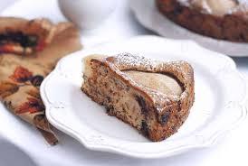 birnen walnusskuchen