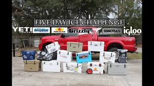 100 River Valley Truck Outfitters Five Day Ice Challenge Coolers Yeti Grizzly Pelican Engel