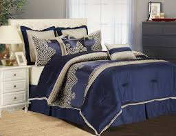 Solid Navy Blue Twin forter Navy Bed Set Ideas