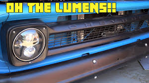 BIG LED Headlight Upgrade For The C10! - YouTube Best Led Headlight Bulbs Bestheadlightbulbscom 12016 F250 F350 Lighting F150 Brings Tech To Trucks Lamarque Ford New Orleans Kenner 0911 Hyundai Genesis4dr Dualcolor Halo Rings Head Fog Lights Penske Installing Trucklite Headlights On 5000 Rental Semi Combo H4 Redline Lumtronix 7 Inch Round White Anzo Hid 2015 Silverado Youtube Making Daylight Custom Headlights Volkswagen Amarok Bi Xenon Ultimate Left Right Vw 0713 Gmc Sierrard