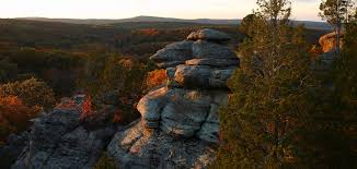 Garden of the Gods Wilderness Protected Area in Illinois