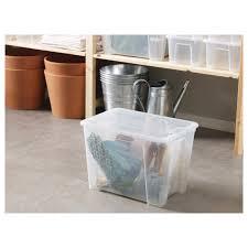 aufbewahrung organisation ikea samla box 22 liter mit