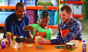FREE IS MY LIFE FREE Home Depot Kids Workshop 12 2 Build a