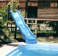 Pool Slide Used Home Built Pools Slides Designs And Backyard Water For Sale Swimming