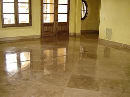 Travertine Floor Cleaning Houston by Travertine Floor Polished Travertine Stone Tile Floor Kitchen