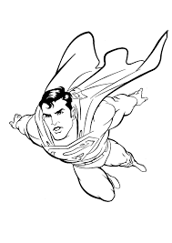 Free Superman Coloring Pages For Kids Printable