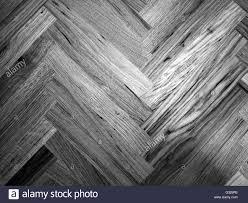 Seamless Oak Laminate Parquet Floor Texture Background In Black And White