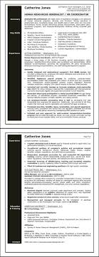 Human Resources Generalist Resume Sample Professional Entry ...