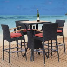 Gensun Patio Furniture Florence by Bar Height Outdoor Furniture Roselawnlutheran