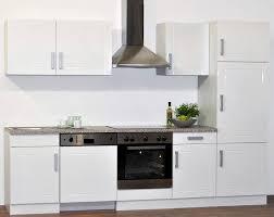 küchen zeile peggy in weiß 7 teilig