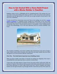 Get A Home Plan How To Get Started With A Home Build Project With A Master