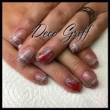 deco ongle gel noel ongle en gel deco noel ongles