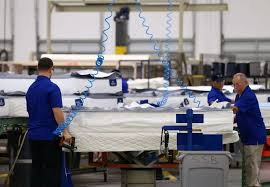 new serta simmons plant boosts mattress production in houston