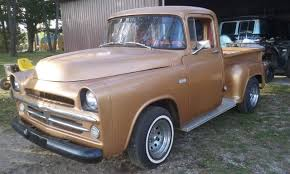 1957 Dodge Pickup Chrome For Sale | All Collector Cars 1957 Dodge Dw Truck For Sale Near Cadillac Michigan 49601 For Sale On Craigslist Best Resource Trucks Man Falls Scam Trying To Sweptline Pickup S401 Kissimmee 2013 D Series Wikipedia Albany Chrysler Jeep Ram New Vintage Intertional Studebaker Willys Othertruck Searcy Ar Original Sweptside Hemi Youtube