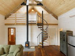 Winter Cabin Rustic Living Room Burlington by Susan Teare