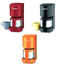 Red Cuisinart Coffee Maker Cup Programmable