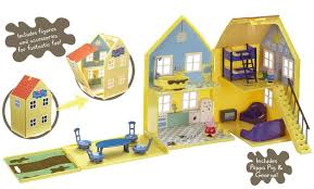peppa pig deluxe playhouse at mighty ape nz