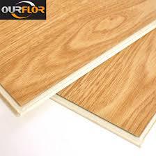 100 Waterproof WPC Vinyl Click Flooring Tiles