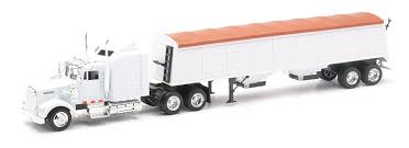 Amazon.com: Kenworth Longhauler 18 Wheeler White Semi Truck: Toys ...