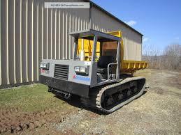 100 5 Yard Dump Truck Morooka Mst1100 Track Crawler Carrier Ton Capacity