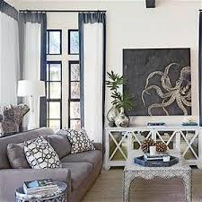 Living Room Decor Coastal Curtains Decorating Ideas Medium