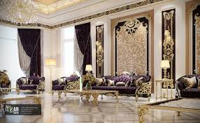 100 Royal Interior Design Classic Majles Royal Style With Golden Touch Uae