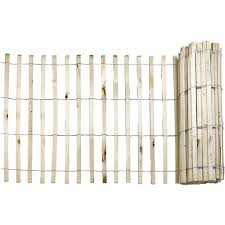 Decorative Garden Fence Home Depot by Everbilt 1 4 In X 4 Ft X 50 Ft Natural Wood Snow Fence 14910 9