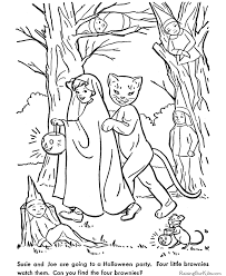 Spooky Coloring Pages For Halloween