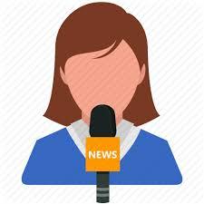 Media News Reporter Report Icon