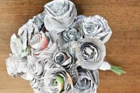 DIY Newspaper Projects With Kids Teens Edventures For Crafts Archives Easy Peasy And Fun Flowers