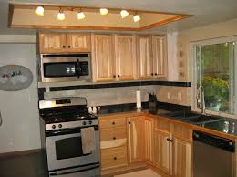 interesting small kitchen makeovers design with track lighting